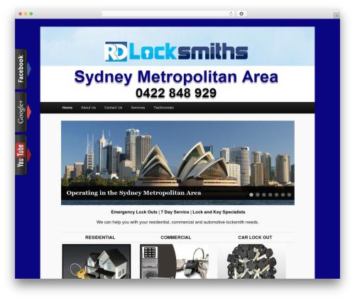 WordPress viral-social-slider plugin - rdlocksmiths.com.au