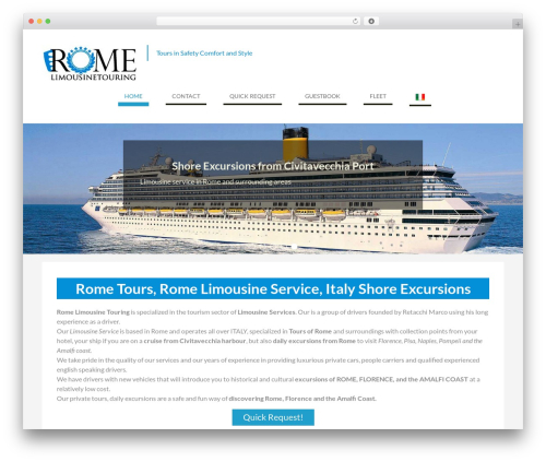 WEN Business free WP theme - romelimousinetouring.com