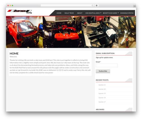 AccessPress Store WordPress theme free download - redfogo.com