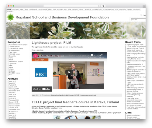 Atahualpa company WordPress theme - rogalandsbdf.com/n