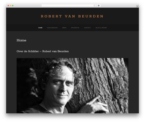 Baltimore WordPress theme - robertvanbeurden.nl