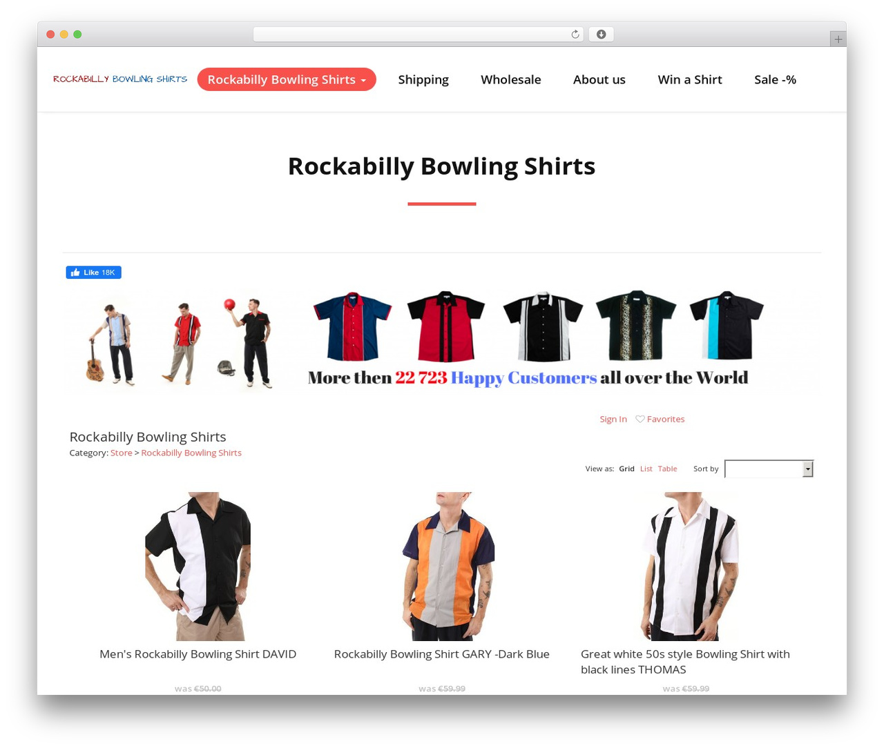 Quality best WordPress theme - rockabilly-bowling-shirts.com