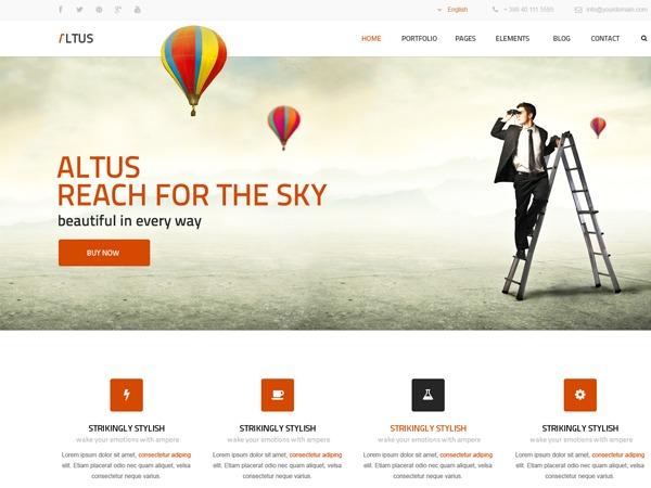 Theme WordPress Altus Child theme