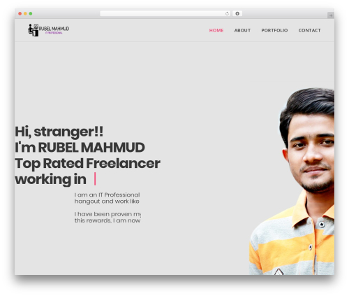 Theme WordPress DPR Bruno - rubelmahmud.com