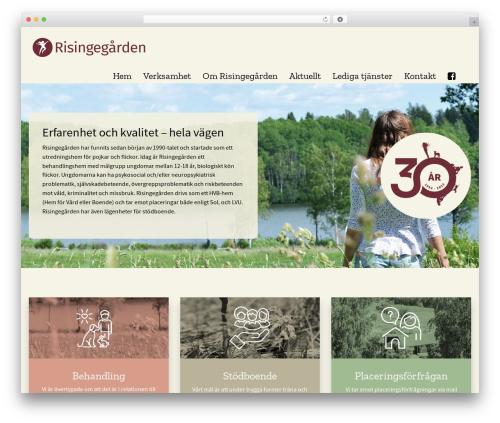 WordPress megamenu-pro plugin - risingegarden.se