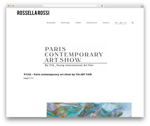 WordPress theme tamashi - rossellarossi.net