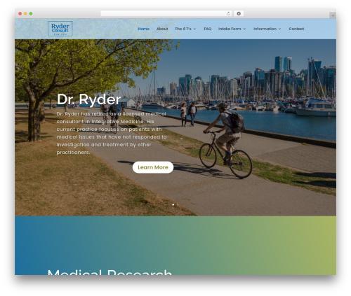 WordPress website template Divi - ryderconsult.ca
