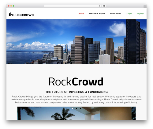 WordPress slider-image plugin - rockcrowd.com