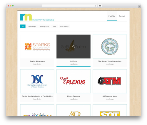 Best WordPress theme Crevision - rmgraphicdesigns.com