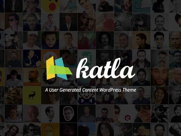 Best WordPress theme Katla by Bluthemes (shared on themelot.net)