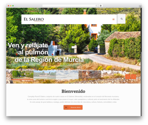 Betheme WordPress template - ruralelsalero.com