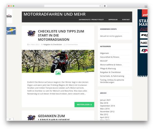 MH Cicero lite template WordPress free - ruppert.ch