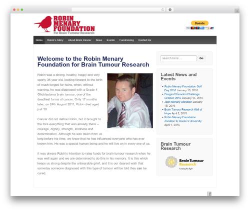 Responsive WordPress free download - robinmenaryfoundation.com