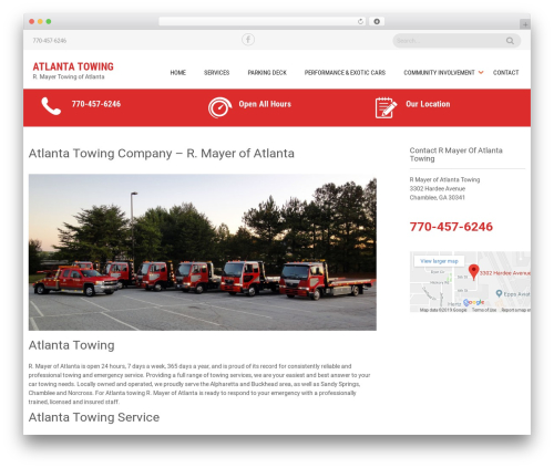 Sanitorium free WordPress theme - rmayerofatlanta.com