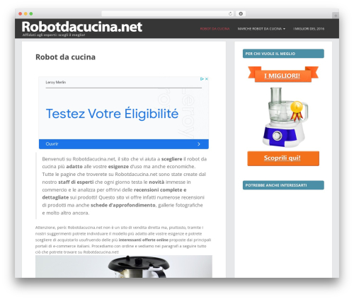 Free WordPress FancyBox plugin - robotdacucina.net