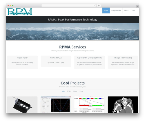 Theme WordPress BusiProf Pro - rpma.com