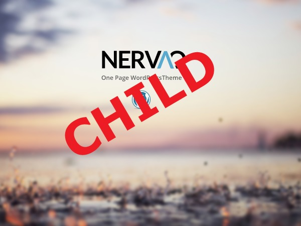 Theme WordPress nervaq Child