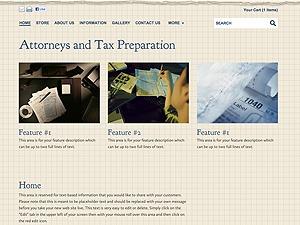 Attorneys & Tax Prep theme WordPress