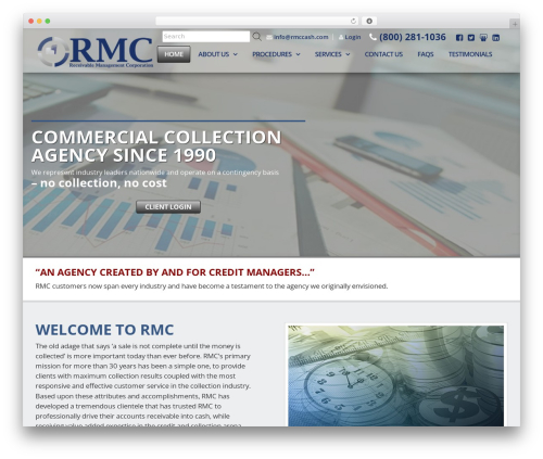 Client Theme WordPress theme - rmccash.com