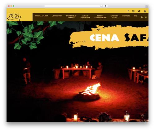 Kids World WordPress theme design - reinoanimal.com.mx