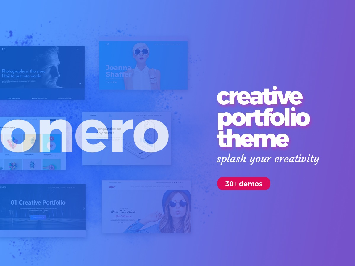 Onero business WordPress theme