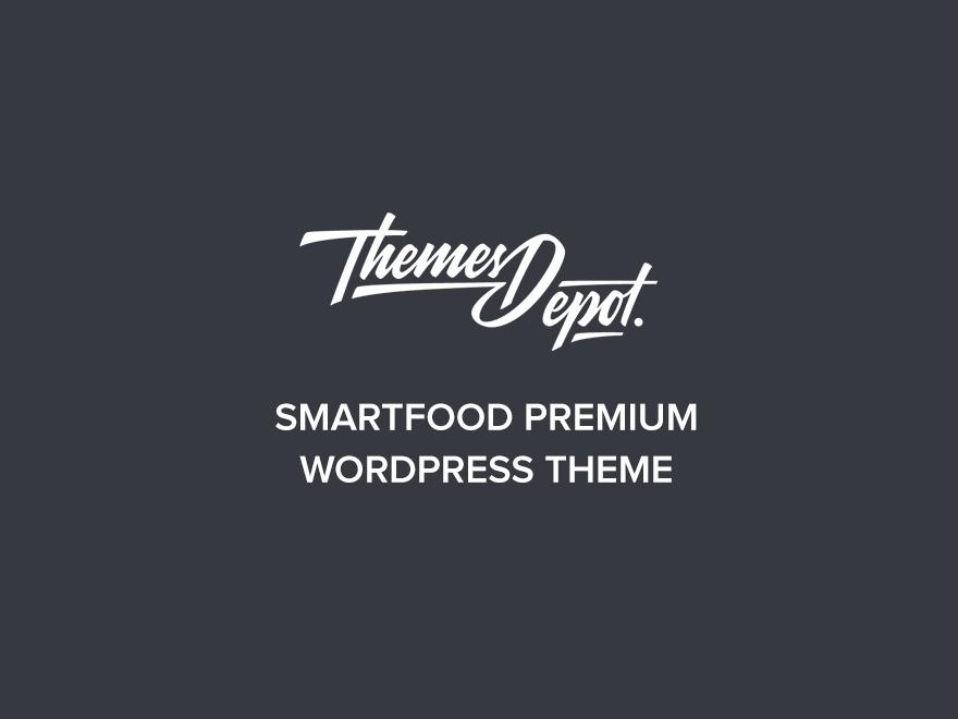 SmartFood - child food WordPress theme