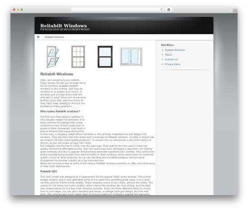 Theme WordPress ClickBump Engine - reliabiltwindows.net