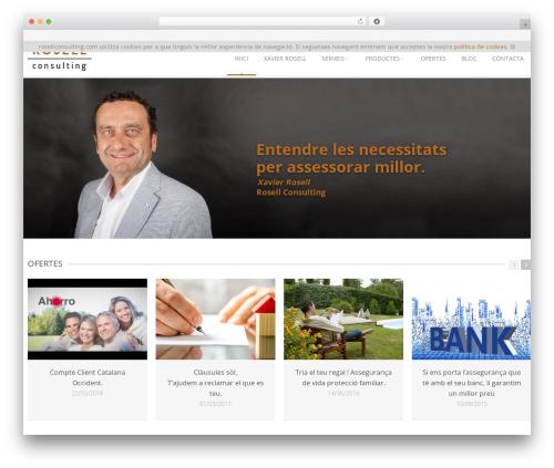 Astrum WordPress theme - rosellconsulting.com/ca/inici