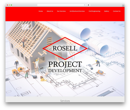 BLDR theme WordPress free - rosellprojects.com