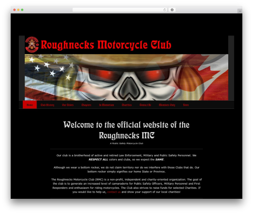 Catch Base Pro theme WordPress - roughnecksmc.com