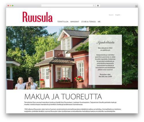 WordPress sitepress-multilingual-cms plugin - ruusula.com