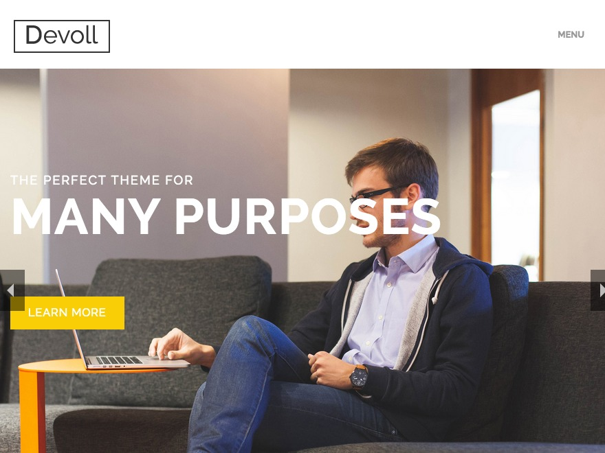 Devoll WordPress theme