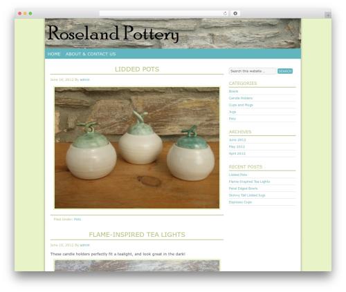 Pixel Happy Child Theme theme WordPress - roselandpottery.com