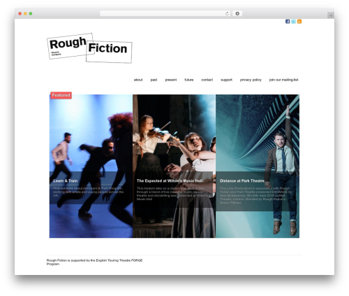 Free WordPress Image in Widget plugin - roughfiction.com