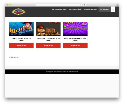Theme WordPress WP Casino Theme - realvegasonline.us