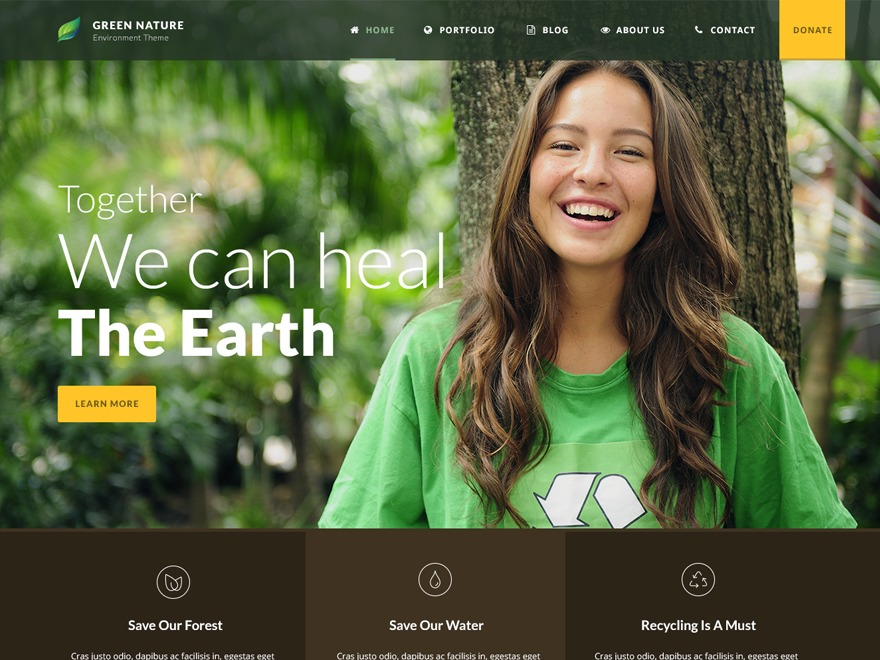 WP template GreenNature