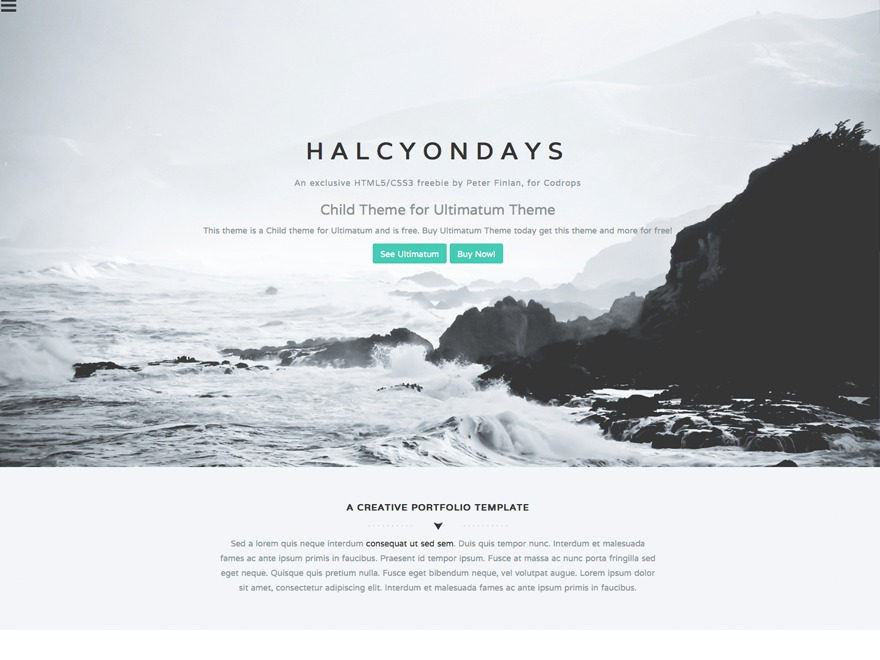 WP template HALCYONDAYS