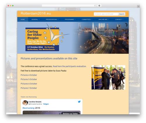 WP template PressEvent - rotterdam2016.eu