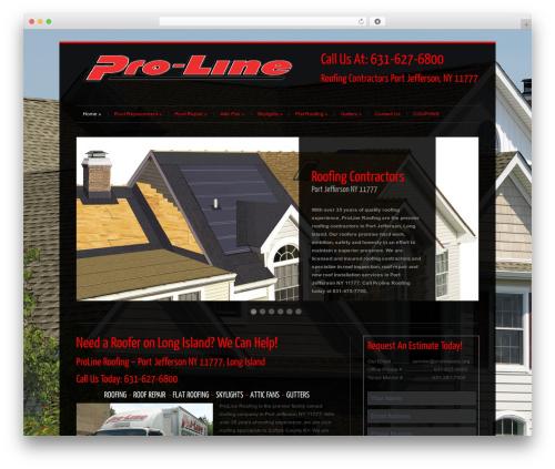 WP theme Cleanex - roofingportjefferson.com