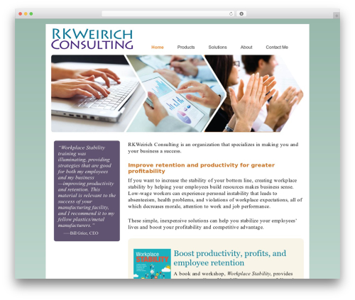 Dynamik WP template - rkweirichconsulting.com