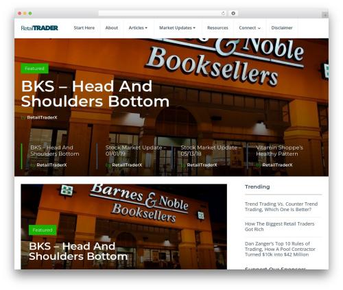 SocialNow by MyThemeShop best WooCommerce theme - retailtrader.info