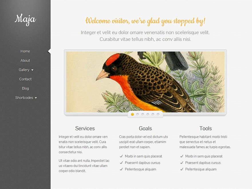 Template WordPress Maja Child