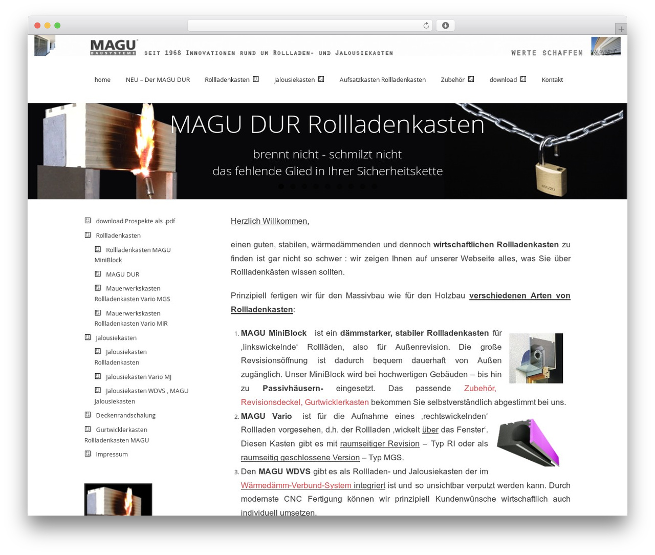 Theme WordPress Renden - rollladenkasten.magu.de