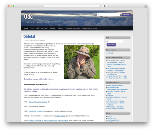 Third Style top WordPress theme - respatekspalass.no