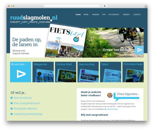 TownPress WordPress theme - ruudslagmolen.nl