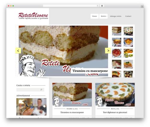 WordPress theme CookingPress - reteteusoare.com