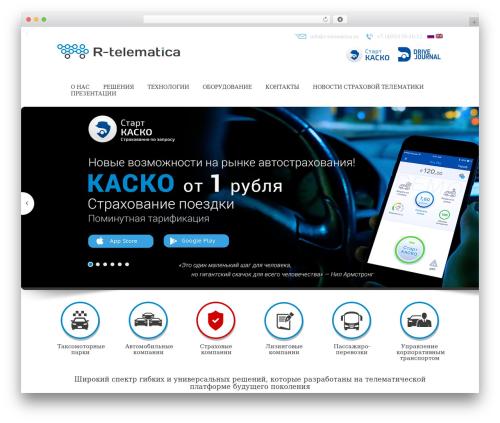 BWS Theme WordPress website template - r-telematica.ru