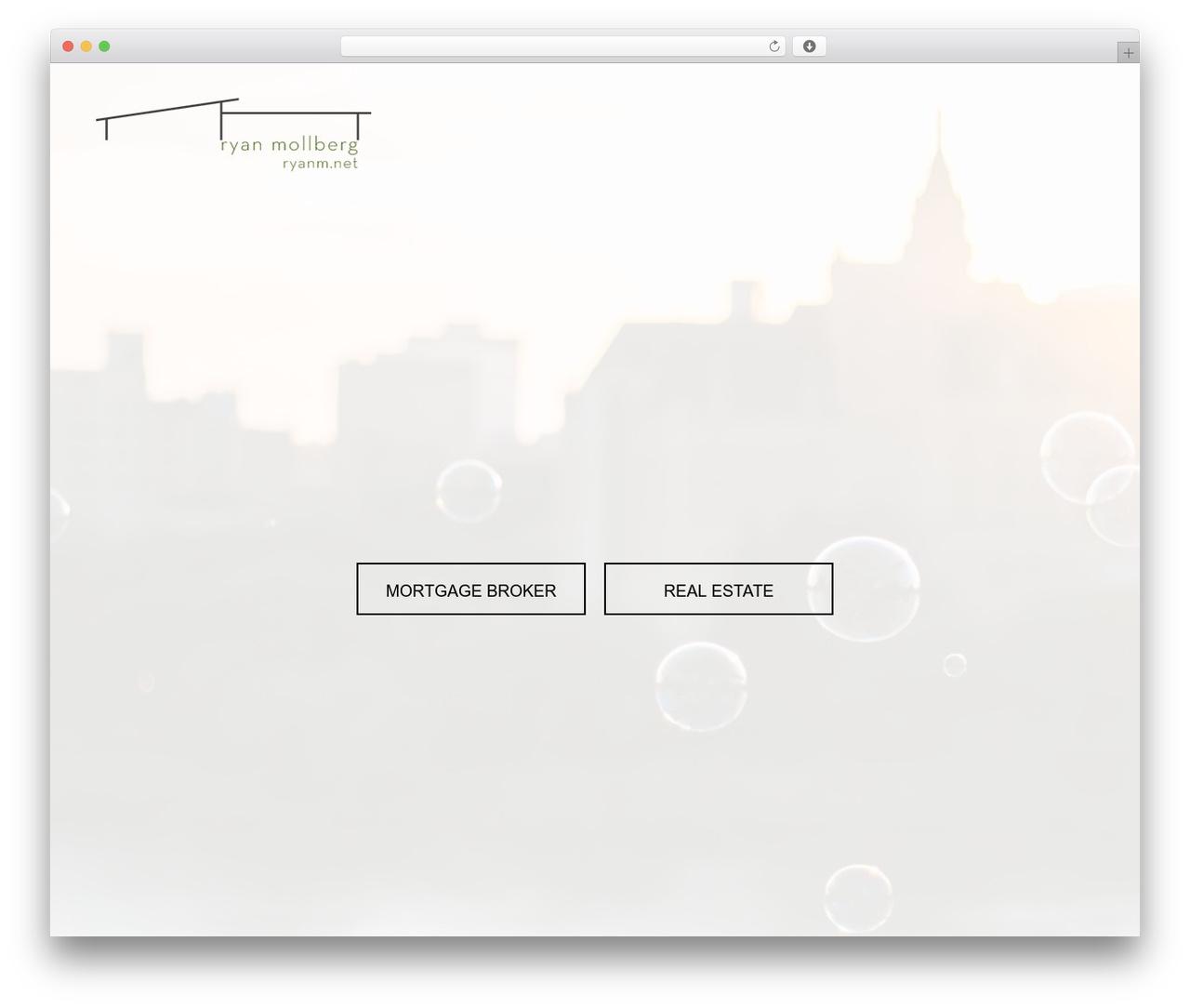 Clearly Modern WordPress theme - ryanm.net