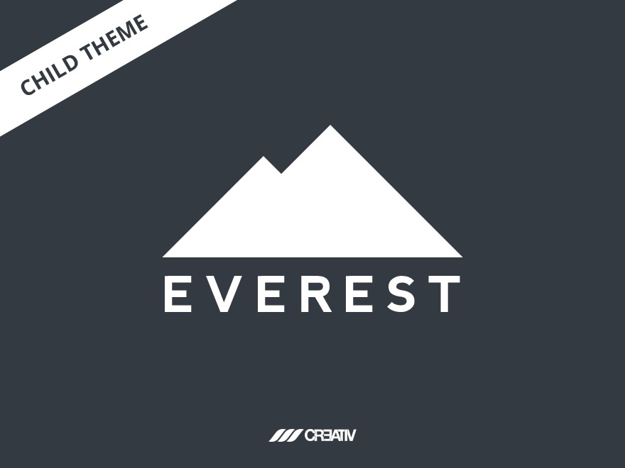 Everest Child Theme best WordPress theme