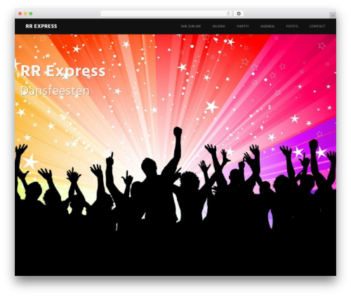 Harmonic free WordPress theme - rrexpress.nl